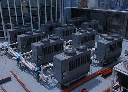 酒店热水设备全面升级,每月可节省万元运营成本_中锐空气能
